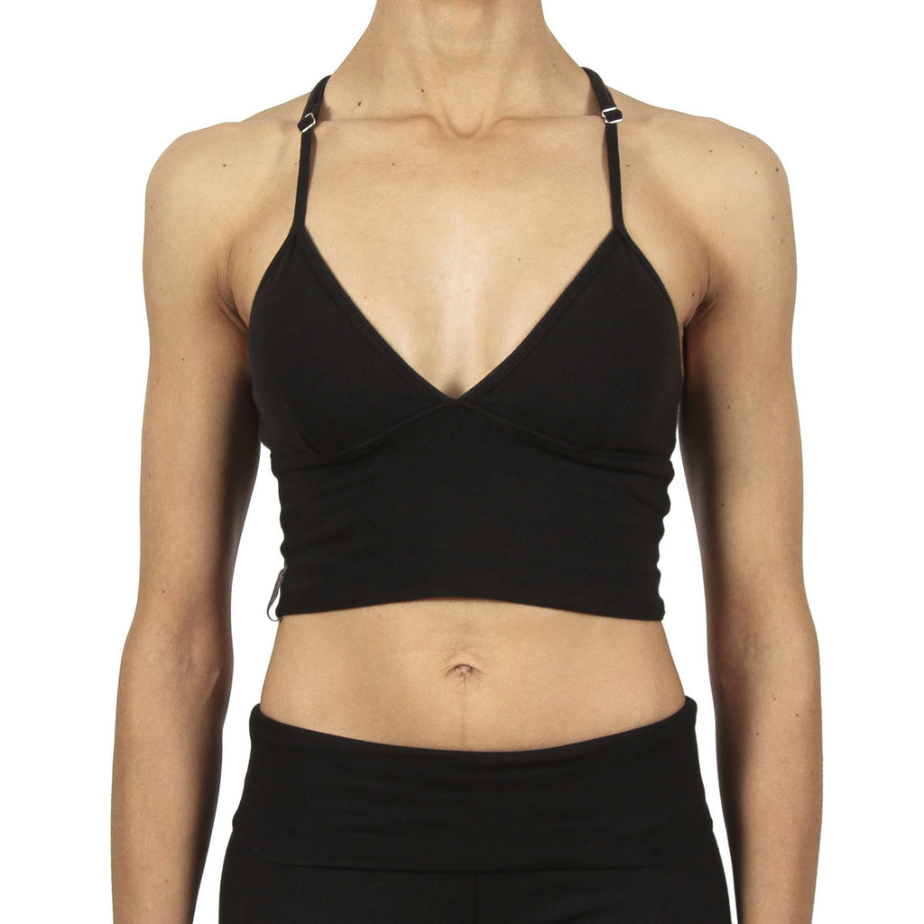 Diamond Crop - Black