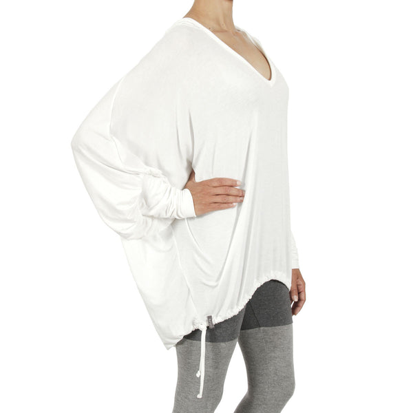 Cosmos Hoody - Lily White