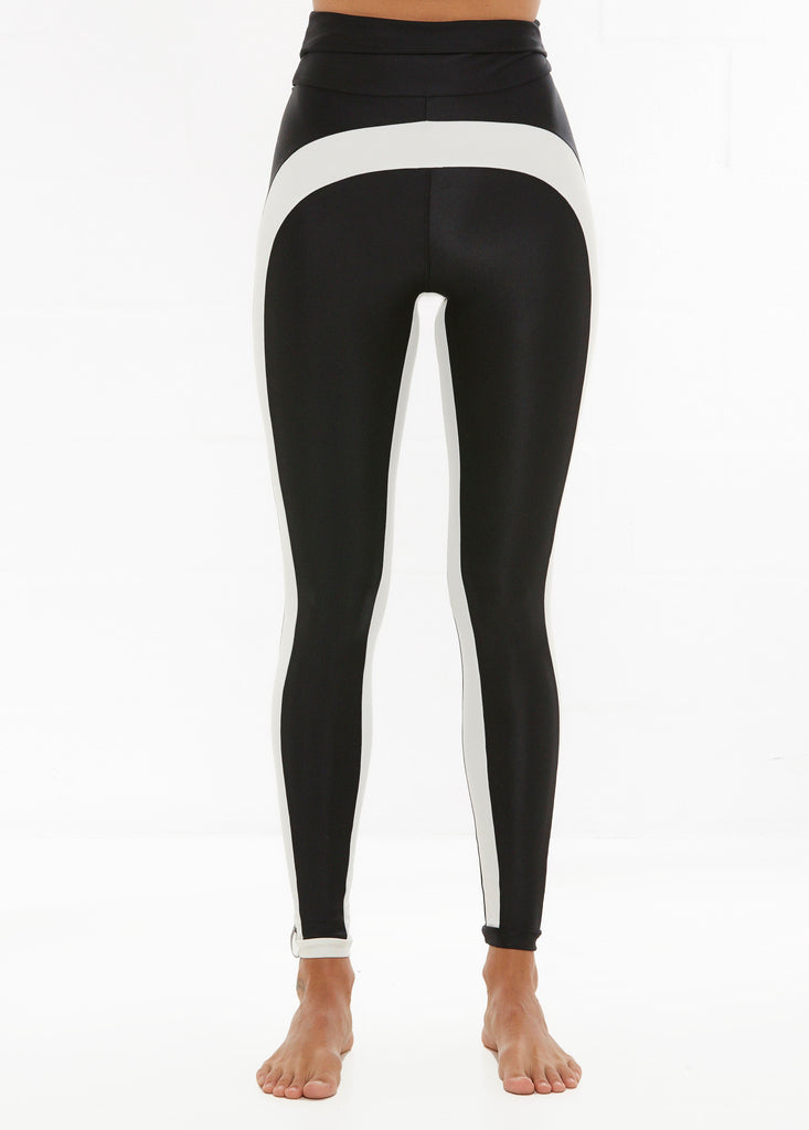 Dupa Long Legs - Black with Crème Trim