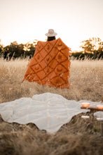 Load image into Gallery viewer, Wild Moonshine Throw | Tan - Picnic Throw - Bohemian Style - Magnolia Lane