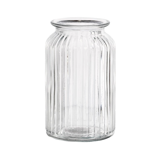 Hurricane Glass Jar Clear | Large - Magnolia Lane