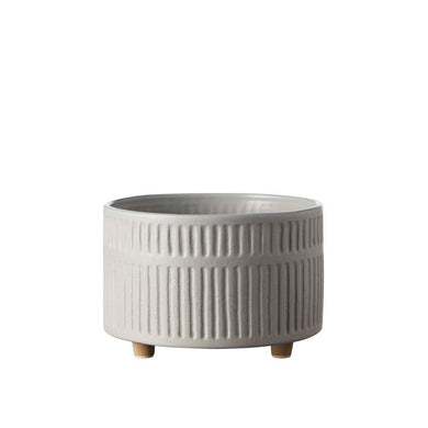 Birch Pot Wide | Fog - Magnolia Lane