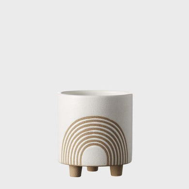 Birch Pot Small | Chalk - Magnolia Lane
