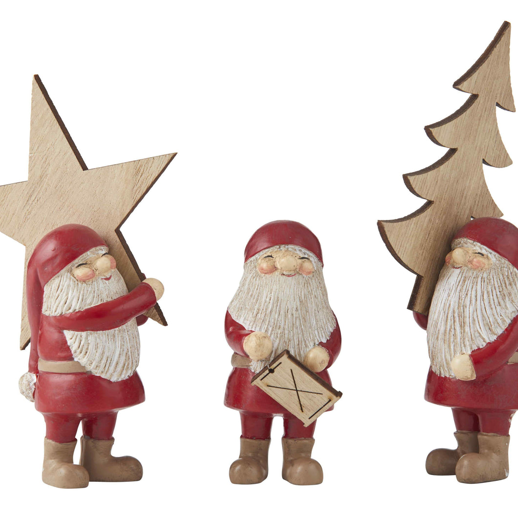 Busy Santa | 3 Assorted Set - Magnolia Lane