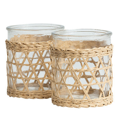 Lune Boathouse Votive - Large | Set of 2 - Magnolia Lane