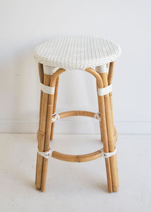 Cayman Counter Stool | White - Bistro Stool - Magnolia Lane