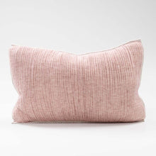 Load image into Gallery viewer, Sea Foam Lumbar Cushion - Rose/Natural Reversible | 40x60cm - Magnolia Lane