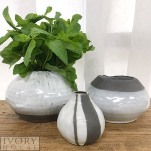Indigo Halo Vase | Grey