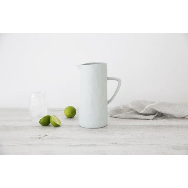 Flax Jug with handle 24cm | Duck Egg - Flax Ceramics - Magnolia Lane