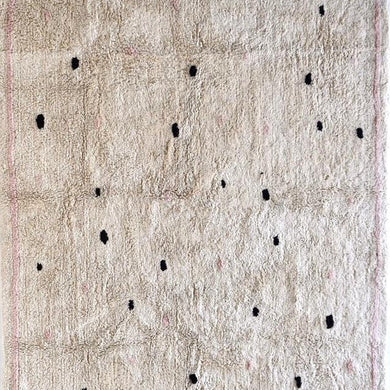 Cotton Berber Rug - Going Dotty | Pink - Magnolia Lane