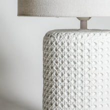 Load image into Gallery viewer, Ferryman Table Lamp | White - Indigo Love Collectors - Magnolia Lane