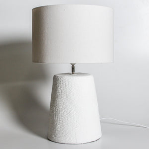 Seabreeze Table Lamp - Large | White - Indigo Love Collectors - Magnolia Lane