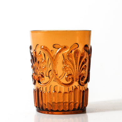 Flemington Acrylic Tumbler S2 | Amber - Indigo Love Collectors - Magnolia Lane