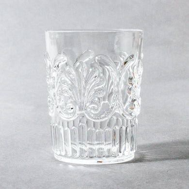 Flemington Acrylic Tumbler S2 | Clear - Indigo Love Collectors - Magnolia Lane