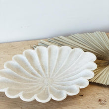 Load image into Gallery viewer, Inndian Marble Lotus Plate | Large - Magnolia Lane