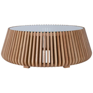 Lindi Low Coffee Table | Natural | Oak - Uniqwa Furniture - Magnolia Lane