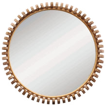 Load image into Gallery viewer, Lindi Round Mirrors | Natural Oak - Uniqwa Collections - Magnolia Lane