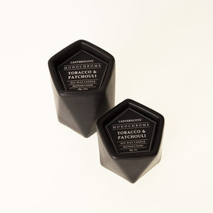 Monochrome Soy Wax Candle 3oz | Matte Black - Lanterncove - Magnolia Lane