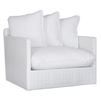 Singita Outdoor Sofa | One Seater | White Weave - Magnolia Lane