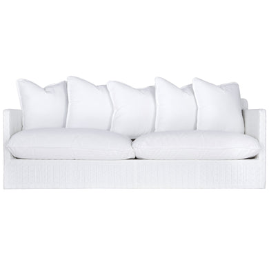 Singita Outdoor Sofa | Three Seater | White Weave - Magnolia Lane