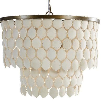 Piatos Hanging Lamp White - Magnolia Lane