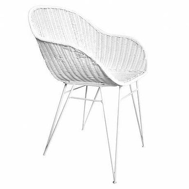 Angola Dining Chair | White - Magnolia Lane