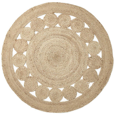 Artisan Flower Floor Rug - Magnolia Lane