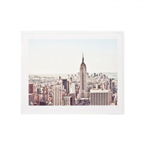 Middle of Nowhere - A New York Morning Framed Print - Magnolia Lane