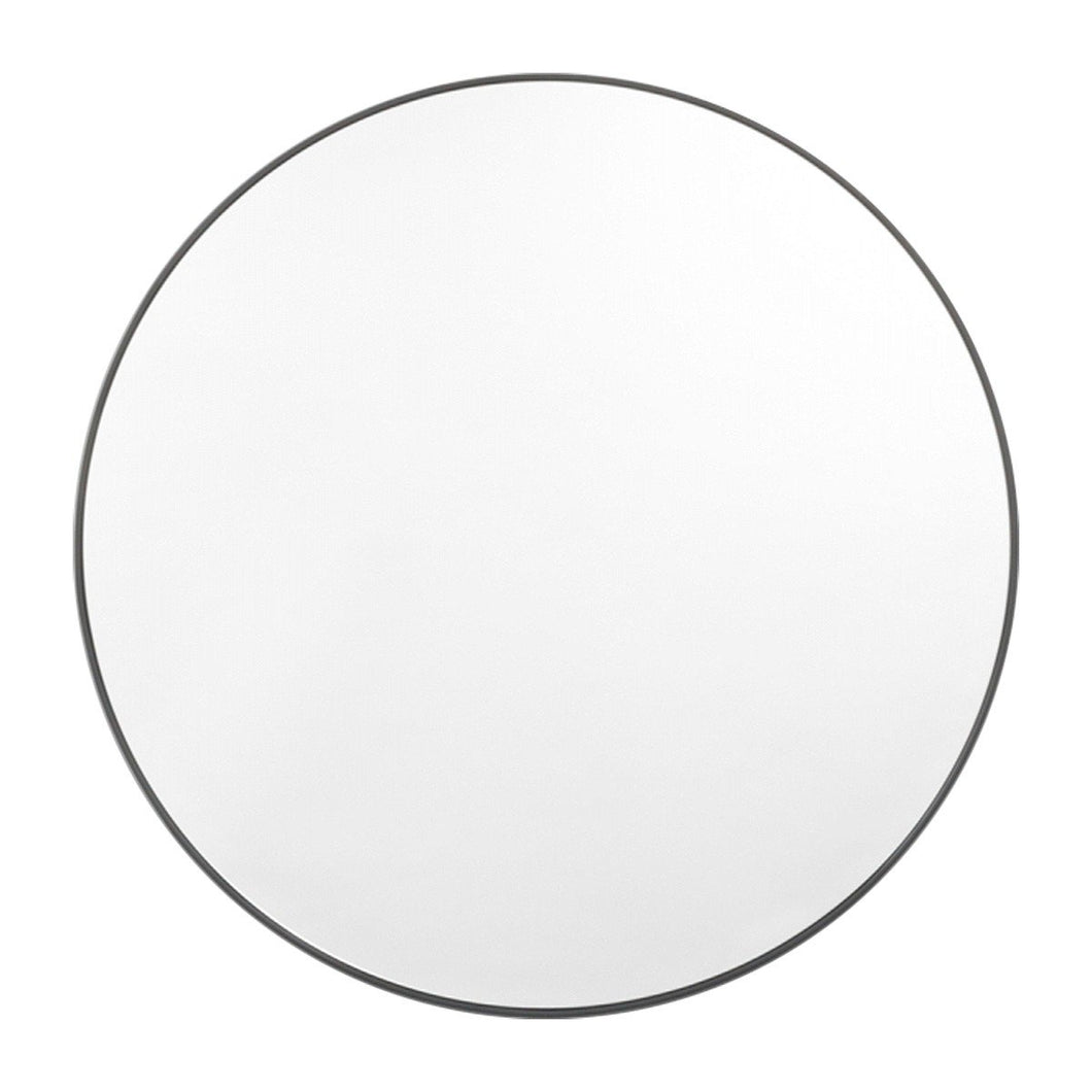 Bjorn Round Mirror Black - Magnolia Lane