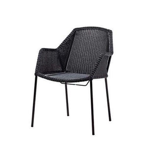 Breeze dining chair, stackable (White or Black) - Magnolia Lane