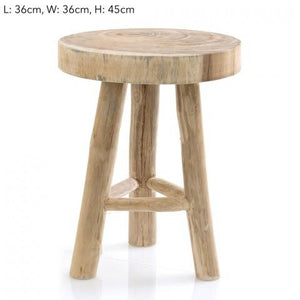 Cancun Stool 45cm - Magnolia Lane