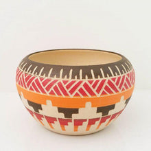 Load image into Gallery viewer, Ceramic planter\vase Desert Aztec design - Magnolia Lane