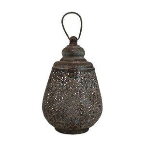Drop lantern, small, antique 16x24 cm - Magnolia Lane