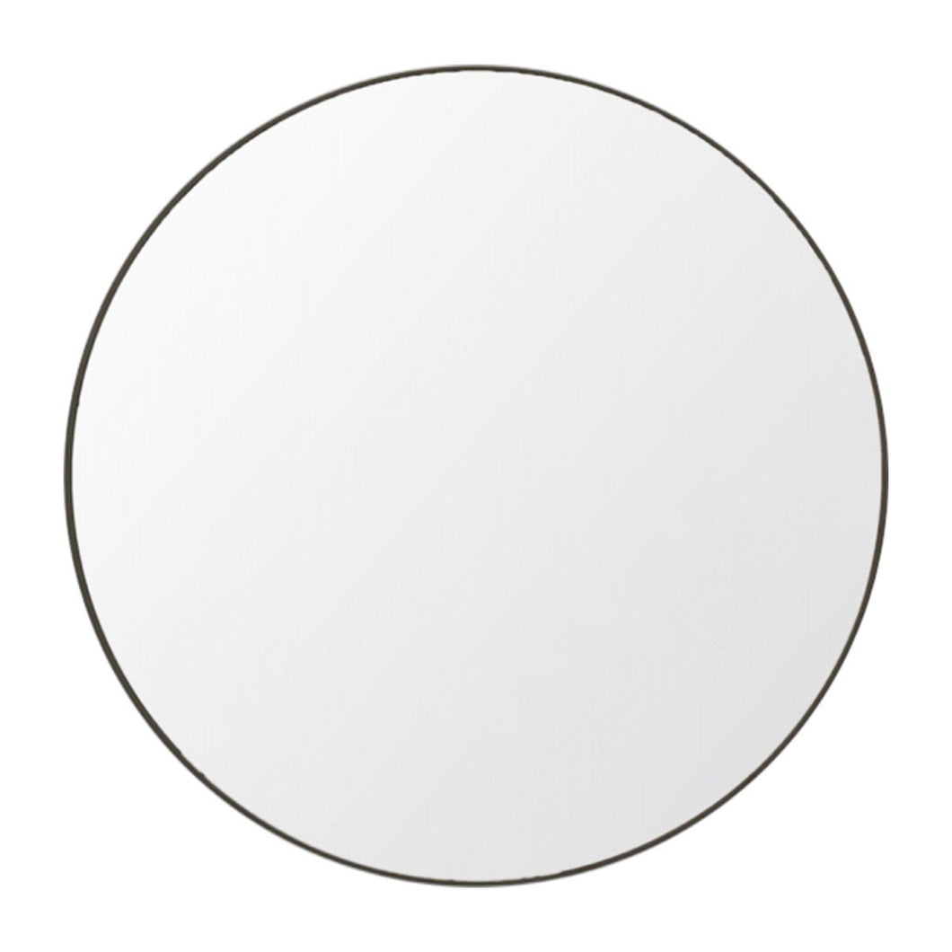 Flynn Round Mirror Black - Magnolia Lane