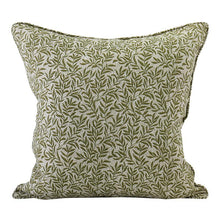 Load image into Gallery viewer, Granada Moss linen cushion 50x50cm by Walter.g - Magnolia Lane