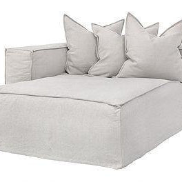 Hendrix Modular Sofa|Left Hand Long Section | Sand - Magnolia Lane