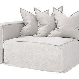 Hendrix Modular Sofa|Left Hand Standard Section | Sand - Magnolia Lane