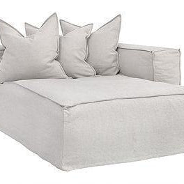 Hendrix Modular Sofa|Right Hand Long Section | Sand - Magnolia Lane