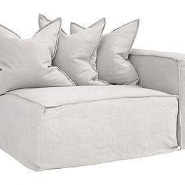 Hendrix Modular Sofa|Right Hand Standard Section | Sand - Magnolia Lane