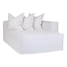 Load image into Gallery viewer, Hendrix Sofa | Chaise Right Hand Arm| White - Magnolia Lane