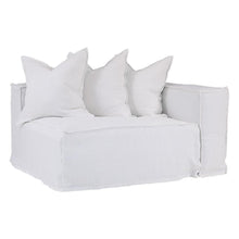 Load image into Gallery viewer, Hendrix Sofa | One Seater Right Hand Arm | White by Uniqwa Furniture - Magnolia Lane