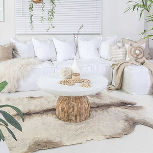 Hendrix Sofa | One Seater | White - Magnolia Lane
