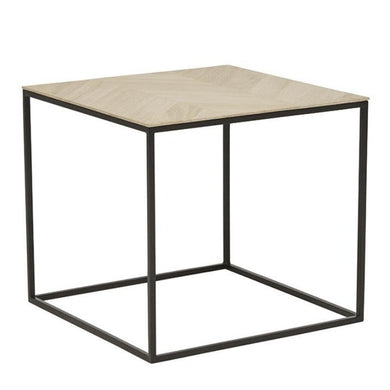 Henley Chevron Side Table - Magnolia Lane