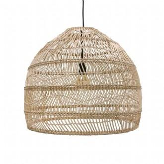 HK Living Handwoven Wicker Pendant | Medium \ Natural - Magnolia Lane