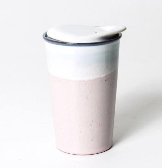 It's a Keeper Ceramic Cup Tall | Strawberry Milk - Indigo Love Collectors - Magnolia Lane