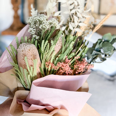 Australian Native Dried Flower Bouquet | Relax - Magnolia Lane
