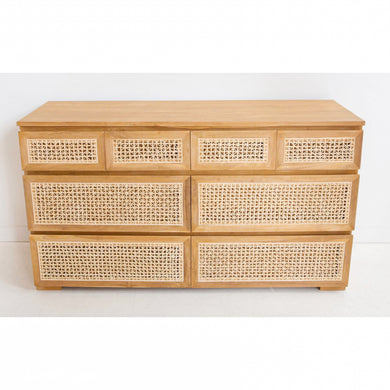 Rattan Chest Of Drawers | 8D - Magnolia Lane
