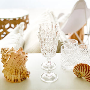 Pavilion Acrylic Wine Glass S2 | Clear - Magnolia Lane