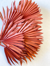 Load image into Gallery viewer, Dried Sun Palm Leaves | Burnt Orange - Dried Flowers - Magnolia Lane