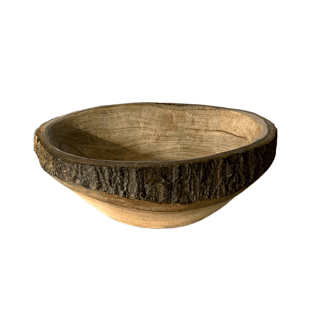 Mango Wood Rough Cut Bowl - Magnolia Lane